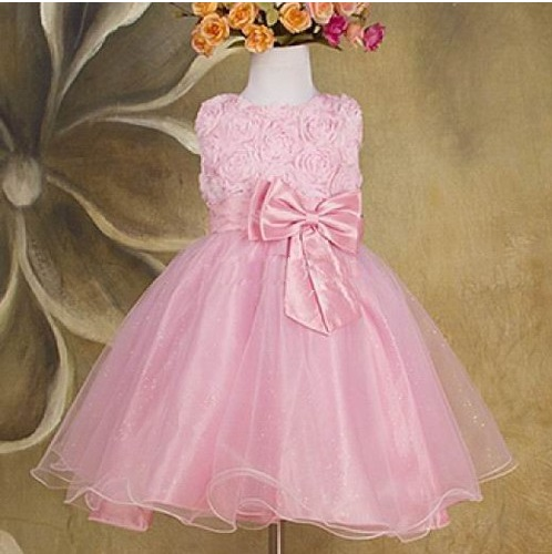 eb44aed6e3e4 Spoločenské detské šaty 2 ružové