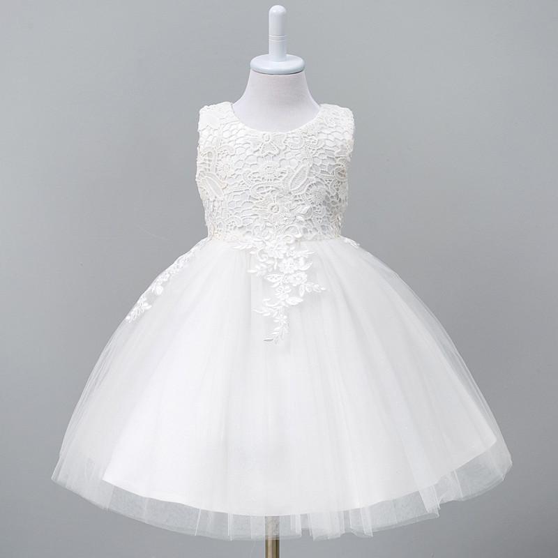 9029a031bcfb Detské spoločenské šaty biele 5