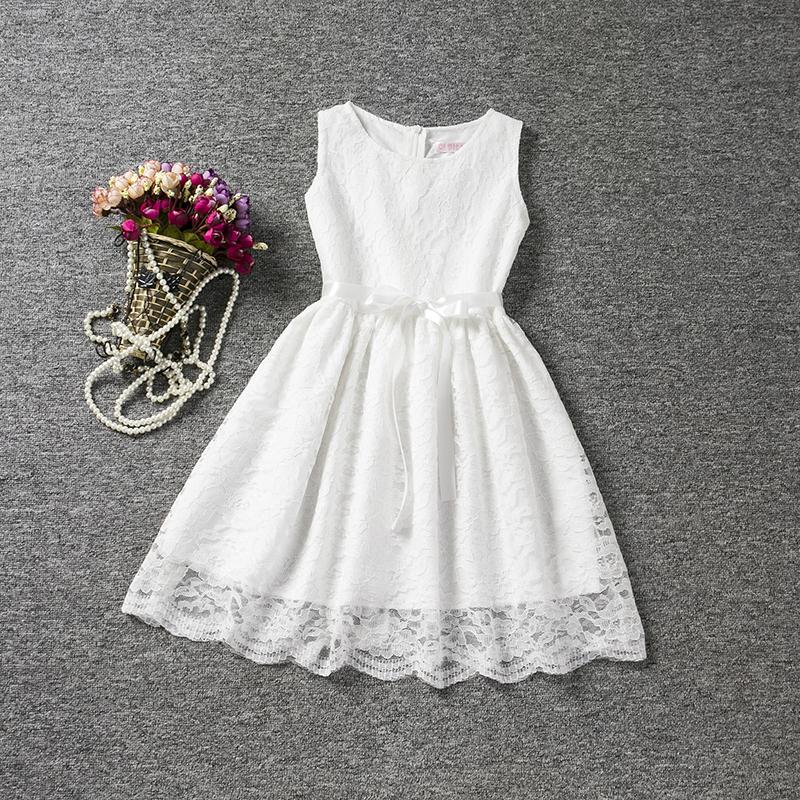 4a2306087088 Dětské spoločenské biele šaty 7