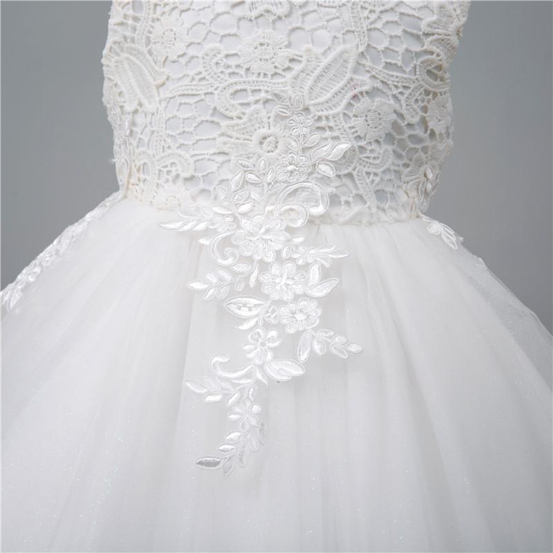 8f8777e97e31 Detské spoločenské šaty biele 5